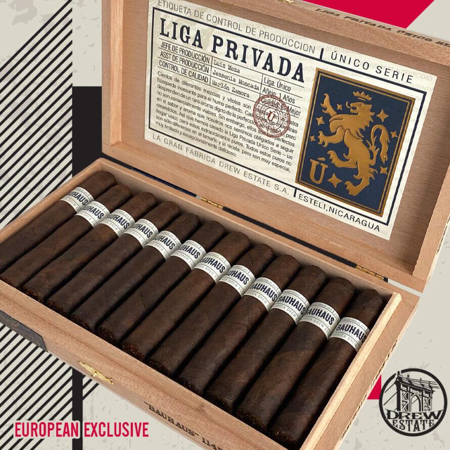 Cigar News: Drew Estate Announces European Exclusive Liga Privada Unico Serie Bauhaus