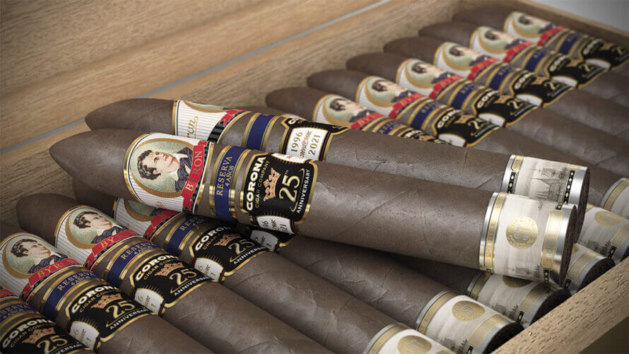 Cigar News: Corona Cigar Co. Gets Two Exclusive Humidors from Nelson Alfonso