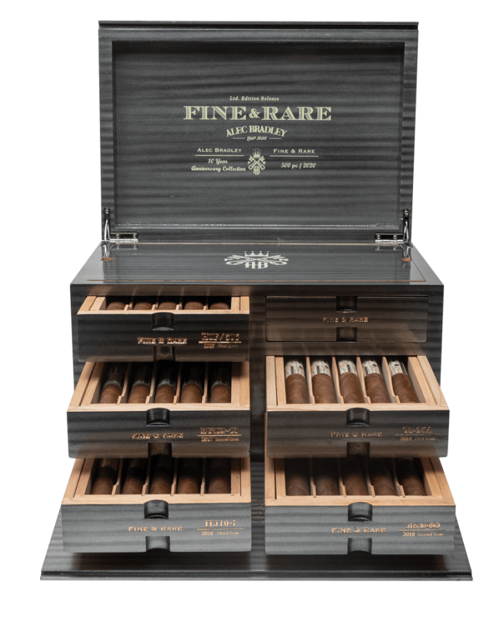 Cigar News: Alec Bradley Shipping 10 Year Anniversary Fine & Rare Sets