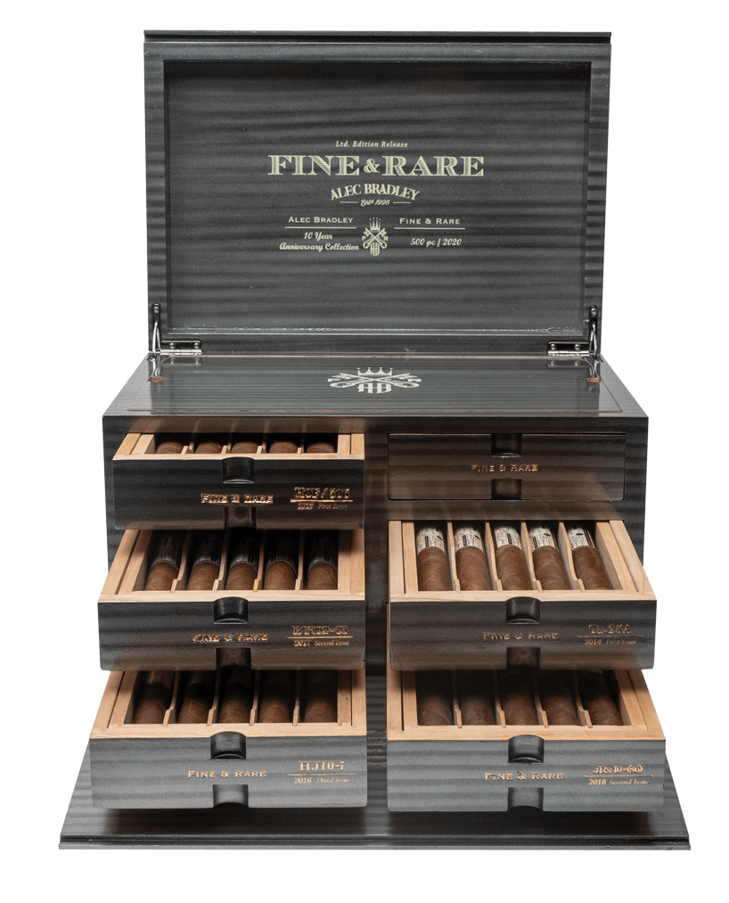 Cigar News: Alec Bradley Shipping 10 Year Anniversary Fine & Rare Sets