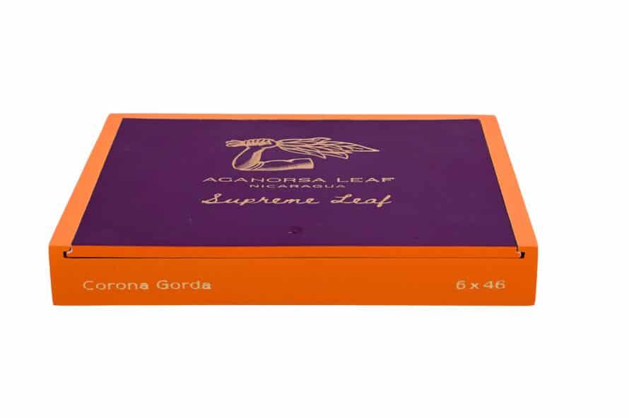 Cigar News: Aganorsa Leaf Announces Supreme Leaf Corona Gorda