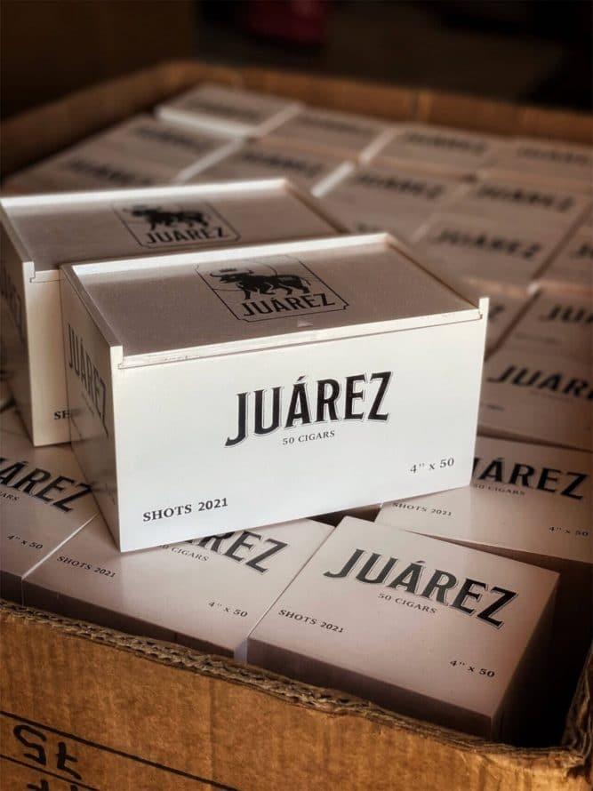 Cigar News: Crowned Heads Announces Juarez Shots LE 2021