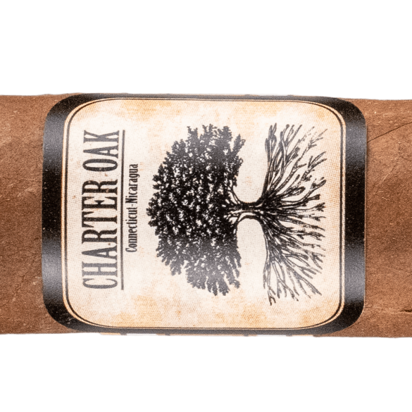 Blind Cigar Review: Foundation | Charter Oak Habano Lonsdale