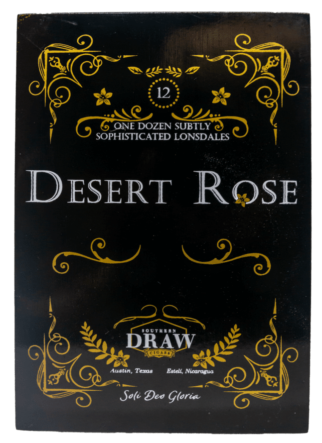 Blind Cigar Review: Southern Draw | Rose of Sharon Desert Rose Lonsdale