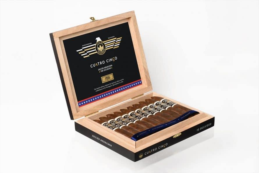 Cigar News: Joya de Nicaragua Announces Cuatro Cinco Edición Americana TAA Exclusive