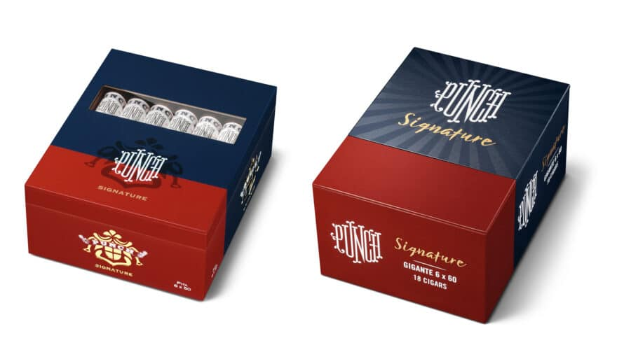 Cigar News: General Cigar Updates Look of Punch Signature