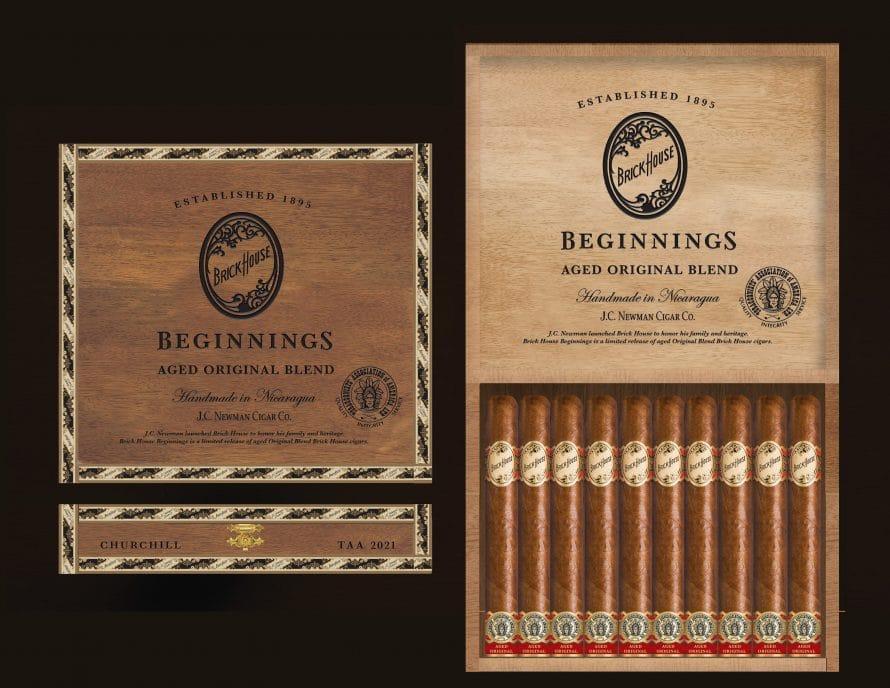 Cigar News: J.C. Newman Announces Brick House Beginnings - TAA 2021 Exclusive