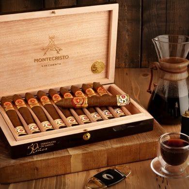 Cigar News: JR Cigar Announces Montecristo Cincuenta JR 50th