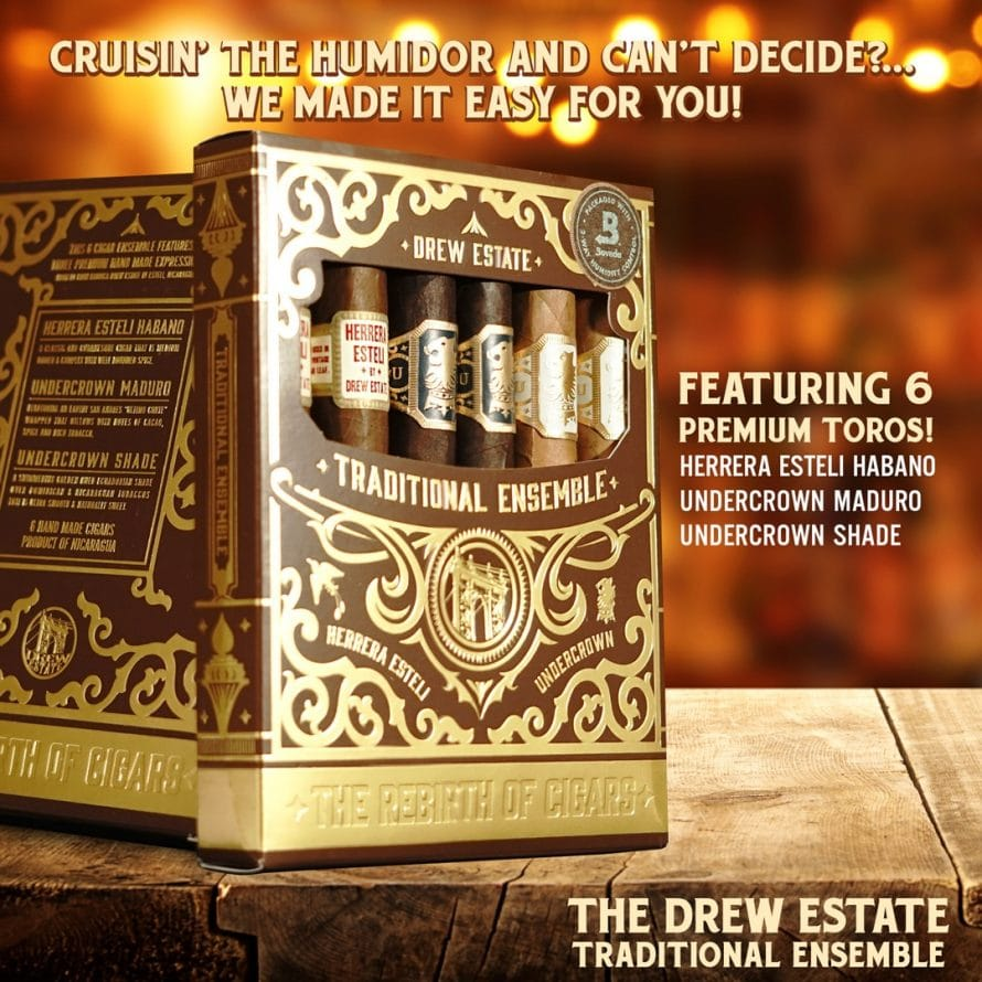 Cigar News: Drew Estate Announces Traditional Cigar 6-Pack
