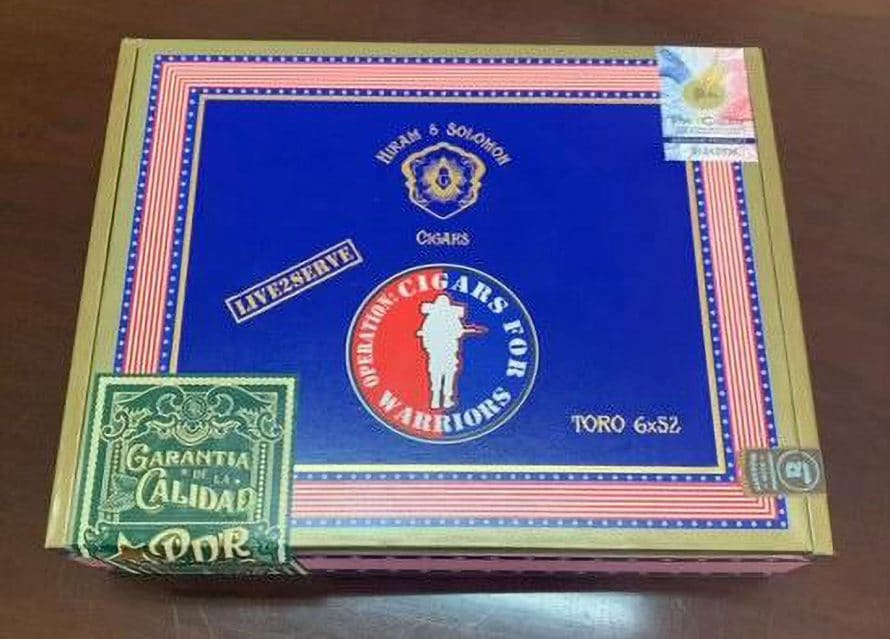 """Cigar News: Cigars For Warriors and Hiram & Solomon Collaborate on """"Live 2 Serve"""" for Charity"""
