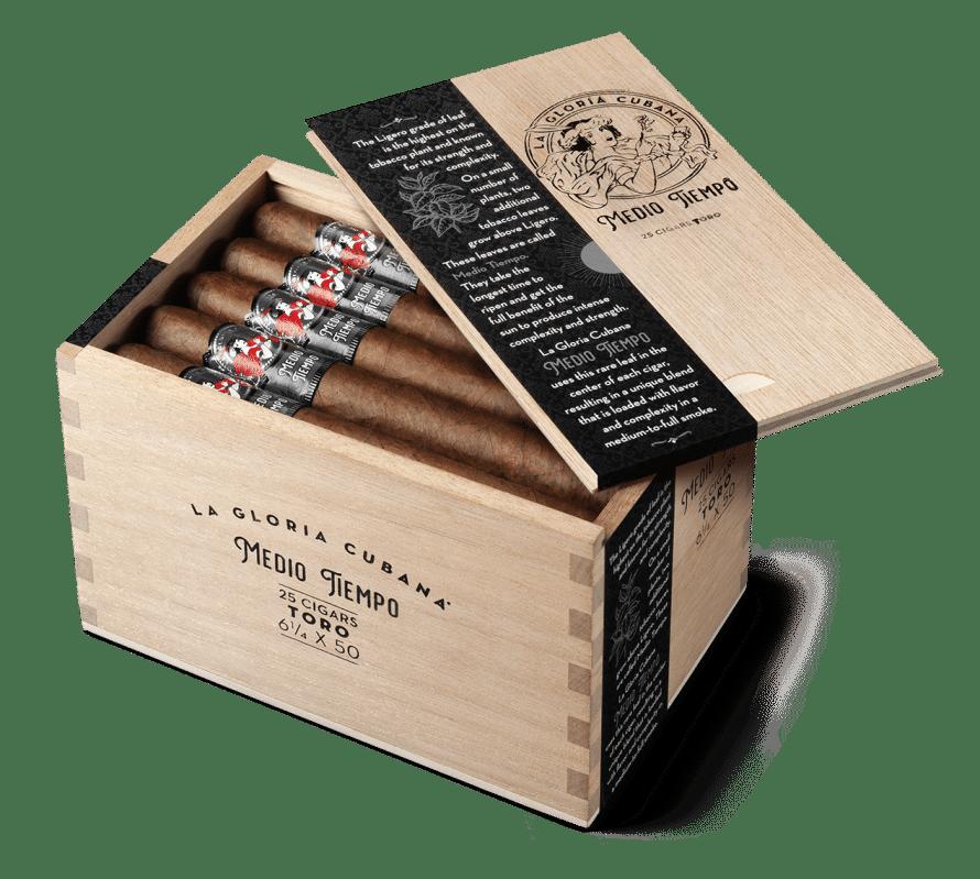 Cigar News: La Gloria Cubana Launches 'Medio Tiempo'