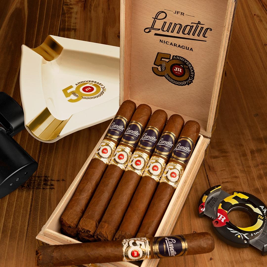 Cigar News: JR Cigar Announces Aganorsa Lunatic JR 50th