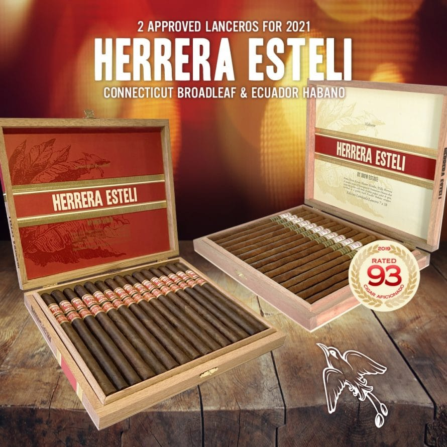 Cigar News: Drew Estate Brings Back Two Herrera Estelí Lanceros
