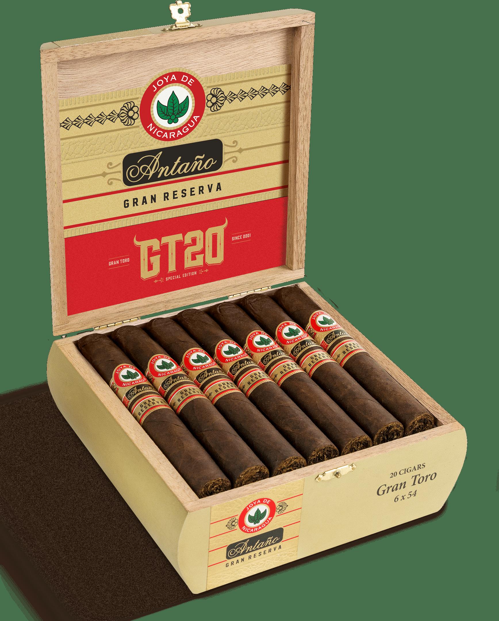 Cigar News: Joya De Nicaragua Announces Antaño Gran Reserva GT20