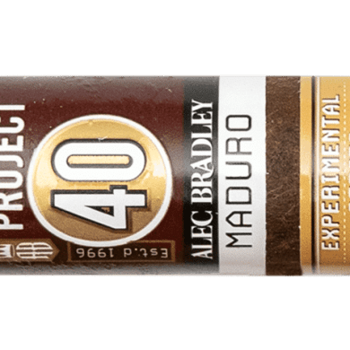 Blind Cigar Review: Alec Bradley | Project 40 Maduro Robusto
