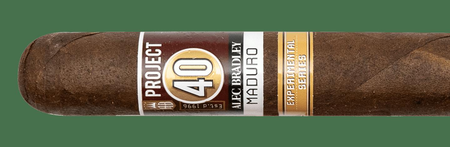 Blind Cigar Review: Alec Bradley | Project 40 Maduro Robusto