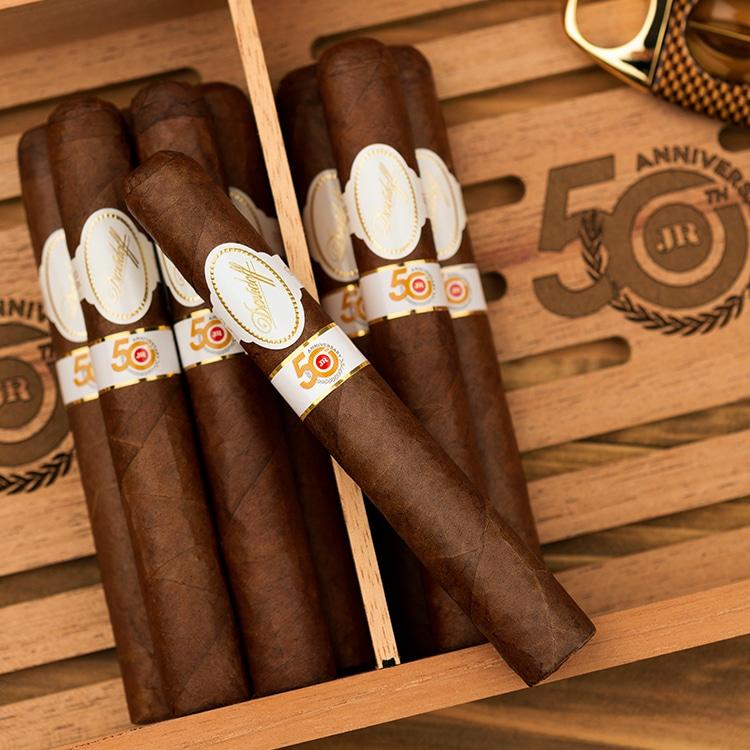 JR Cigar Announces Davidoff JR 50th