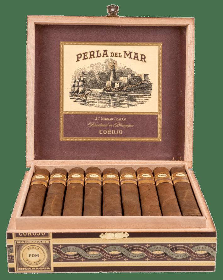 J.C. Newman Perla Del Mar Corojo Corona Gorda - Blind Cigar Review
