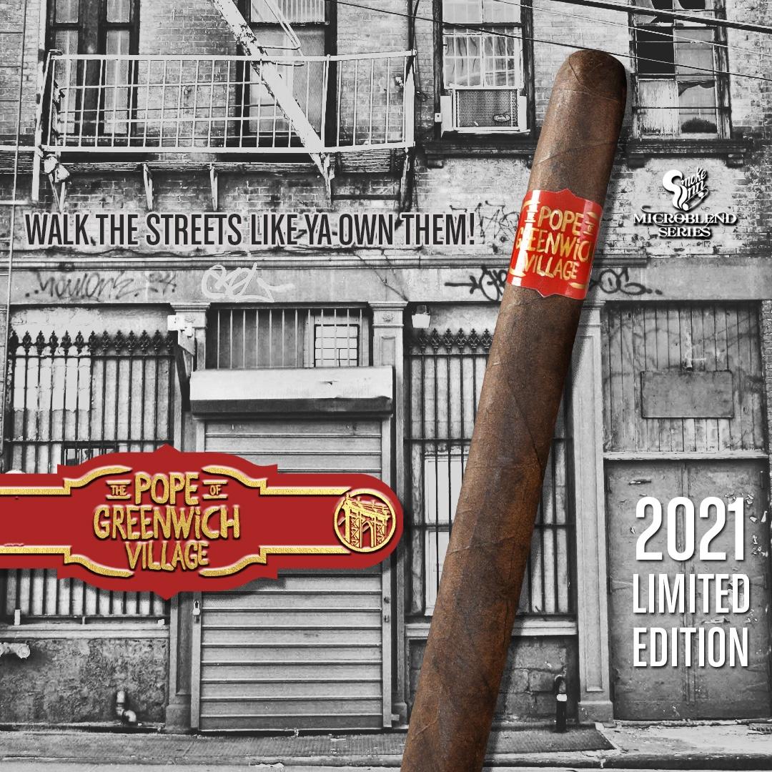Drew Estate's Pope of Greenwich Village Returns to Smoke Inn - Cigar News
