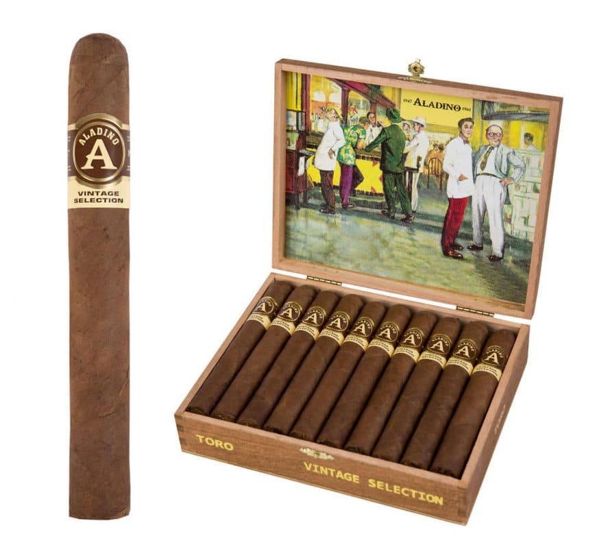 JRE Adds Two New Aladino Vintage Selection Sizes - Cigar News