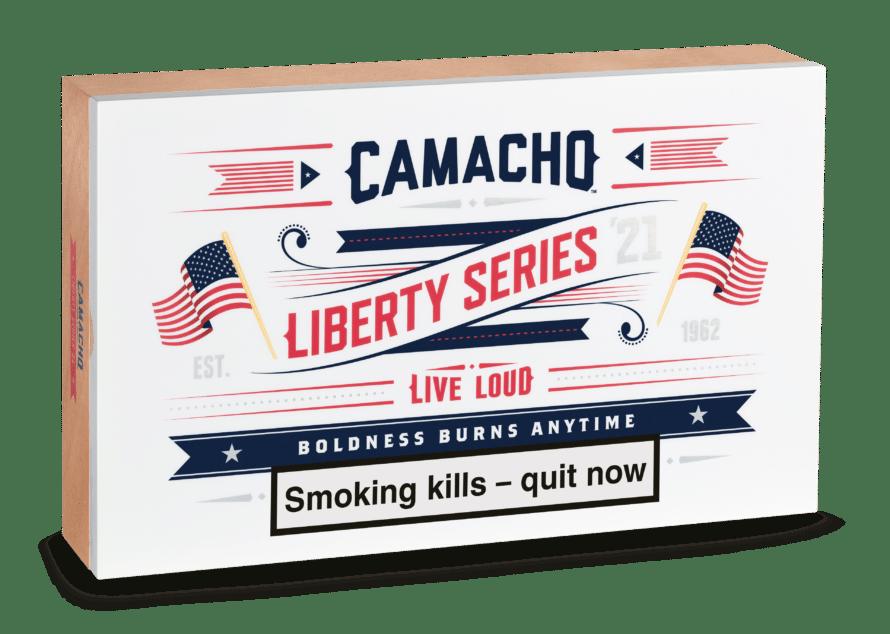 Camacho Unveils Liberty 2021 - Cigar News