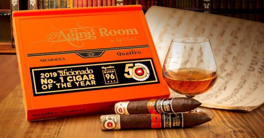 JR Cigar Announces Aging Room Quattro Nicaragua JR 50th - Cigar News