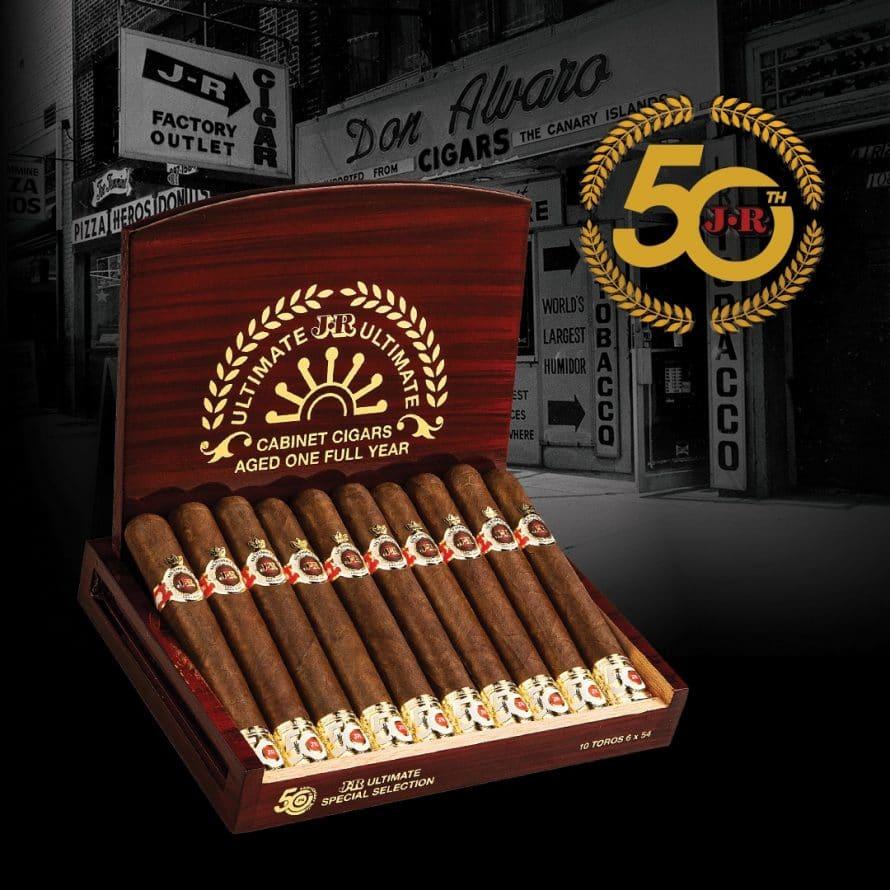 JR Cigar Releases JR Ultimate 50th Anniversary - Cigar News