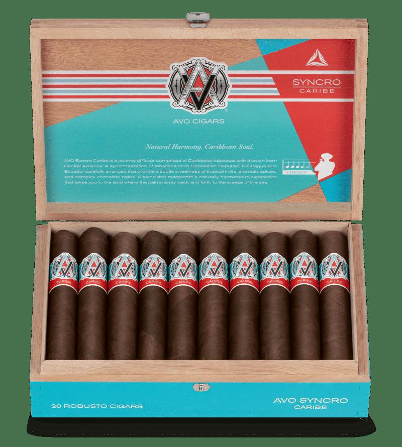 Davidoff Announces AVO Syncro Caribe - Cigar News