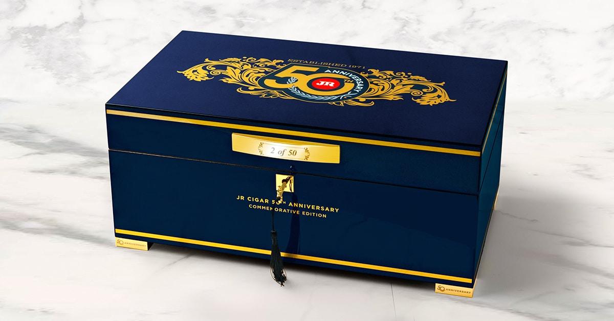 JR Cigar to Release 50th Anniversary Humidor - Cigar News