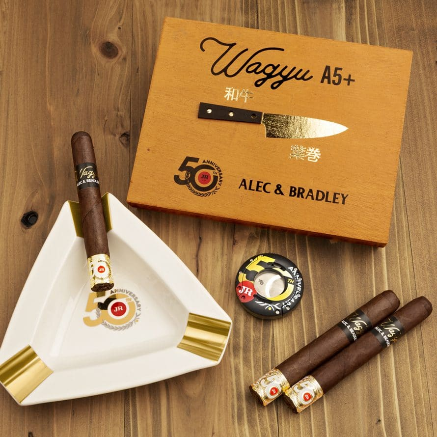 JR Cigar Teams up with Alec & Bradley for Wagyu A5 - Cigar News