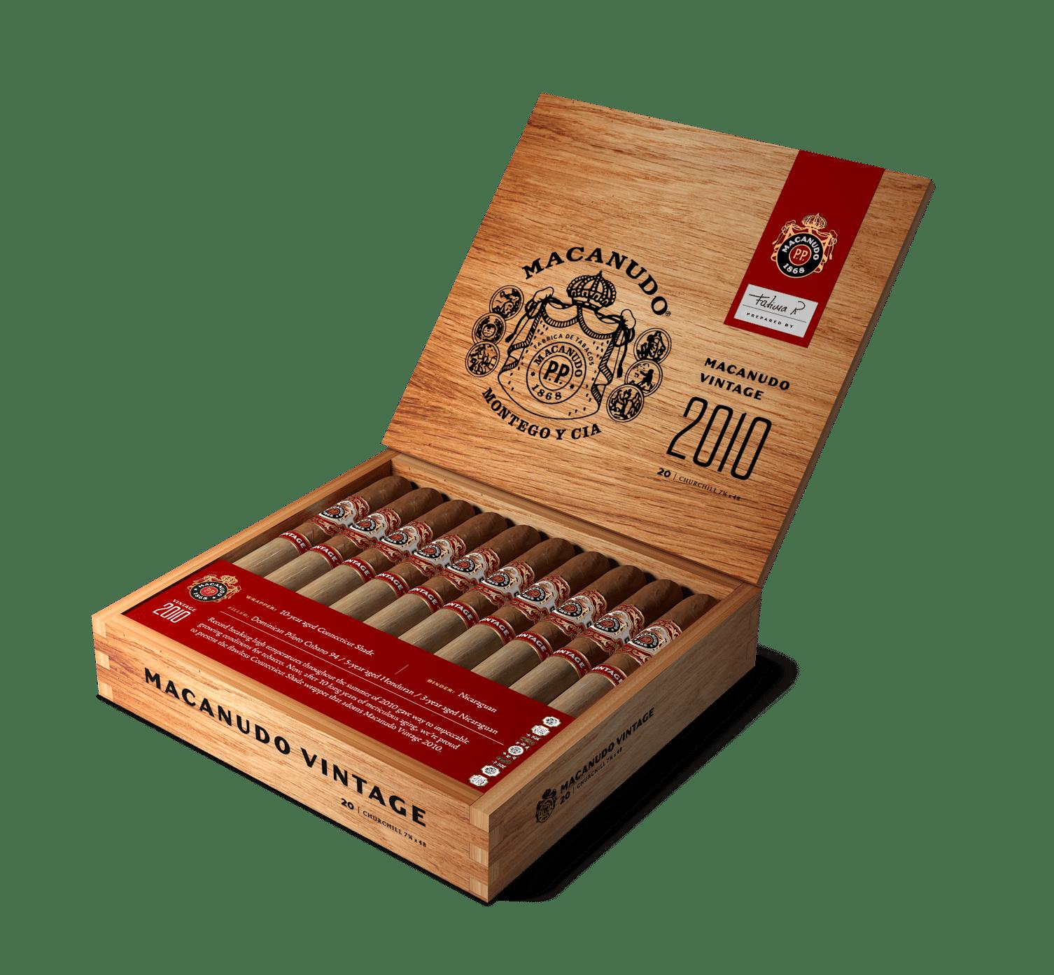 Macanudo Announces Vintage 2010 - Cigar News