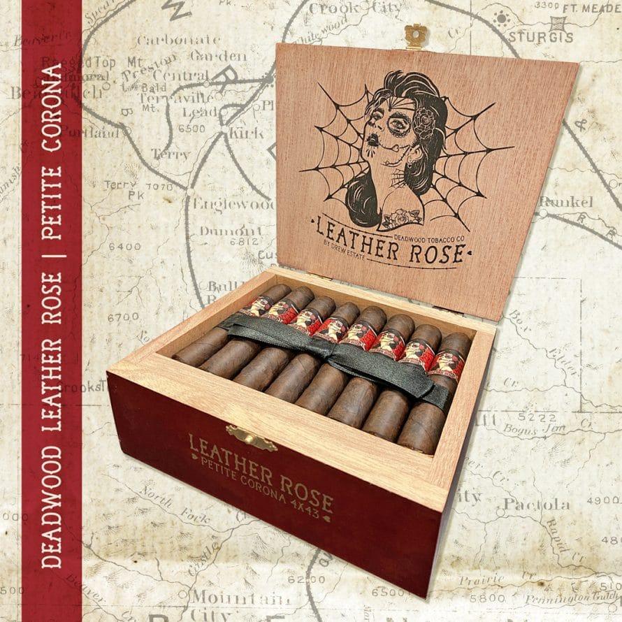 Drew Estate Adds Petite Corona to Deadwood Leather Rose - Cigar News