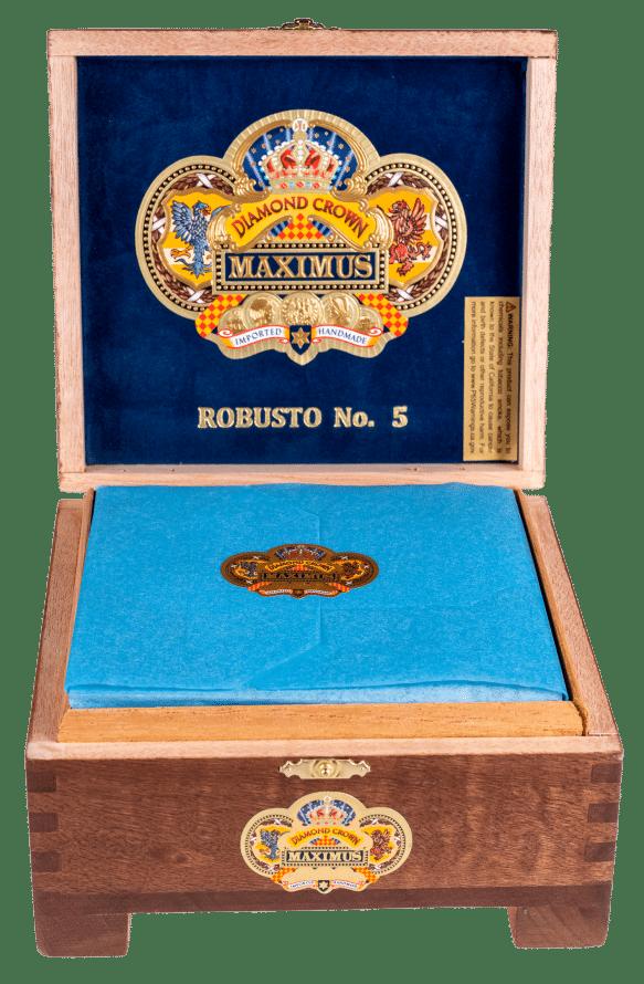 Diamond Crown Maximus Robusto No. 5 - Blind Cigar Review