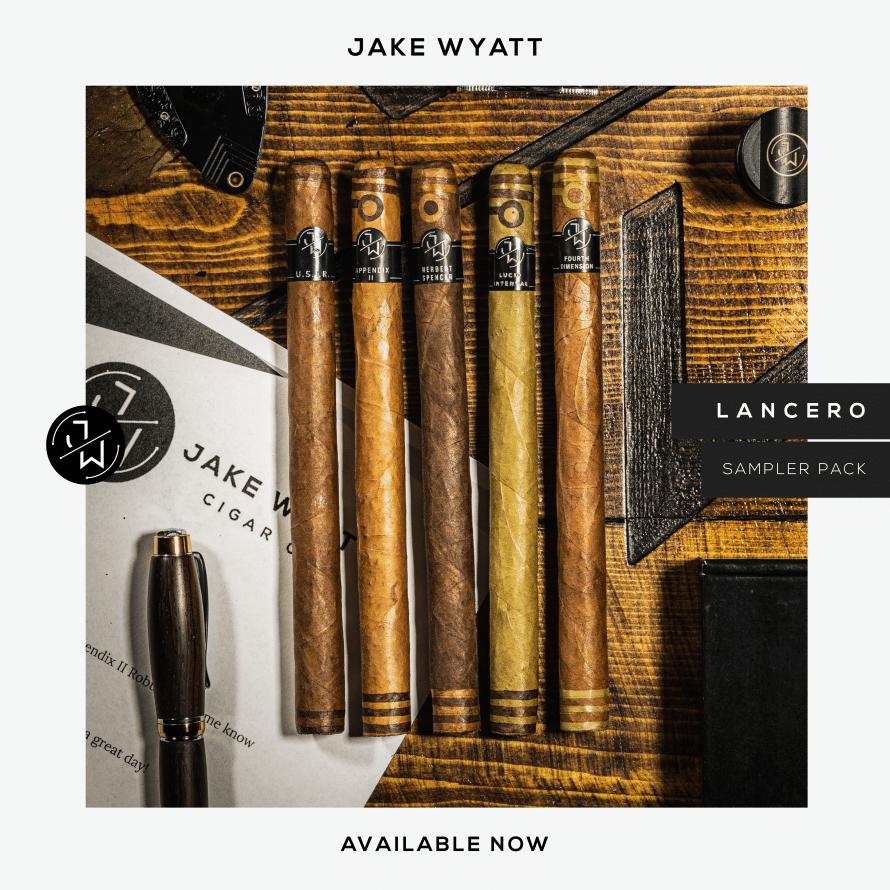 Jake Wyatt Ships Lancero Sampler - Cigar News