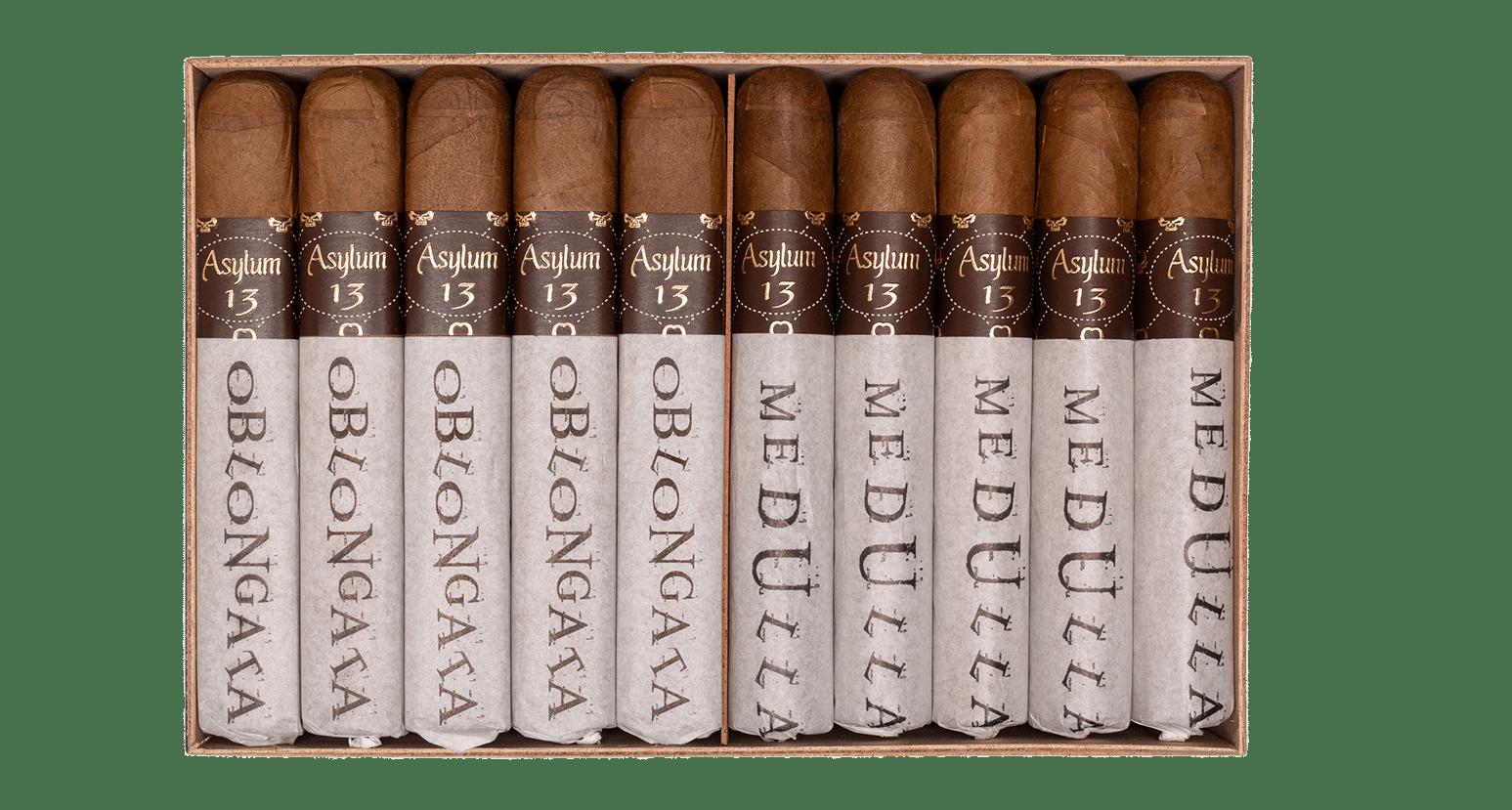 Cigar #10 - Asylum 13 Medulla Oblongata Natural